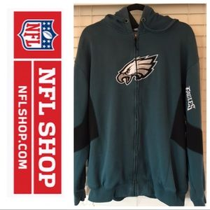 EAGLES Vintage Sweatshirt Jacket Size XL